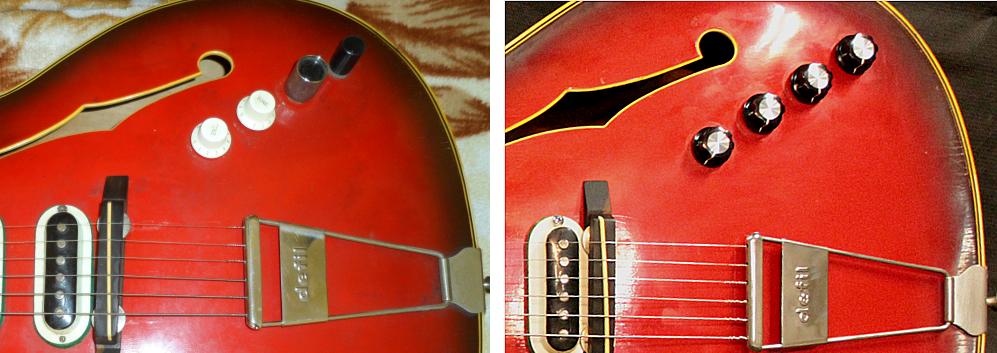naprawa elektroniki pickupów gitary elektrycznej defil