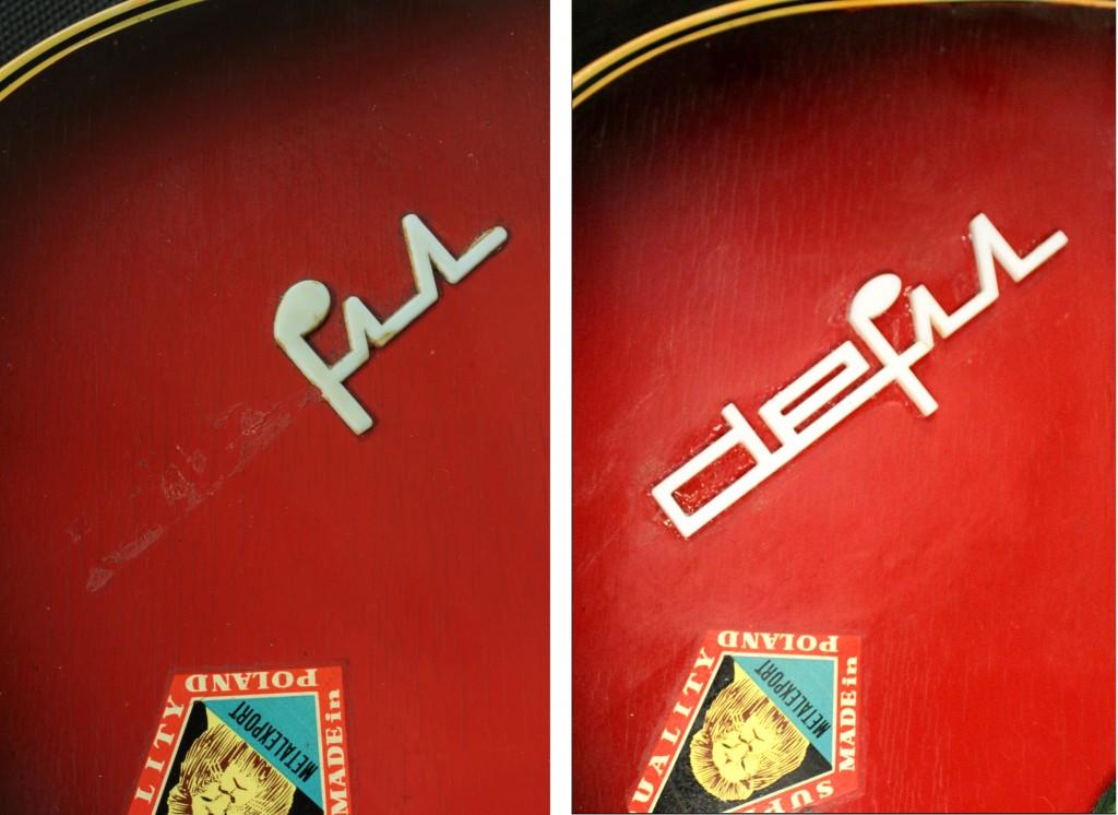 logo defil naprawa gitara elektryczna