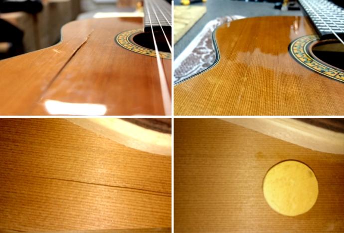 lutnik klejenie gitary