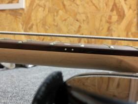Regulacja nowej gitary akcja strun 1